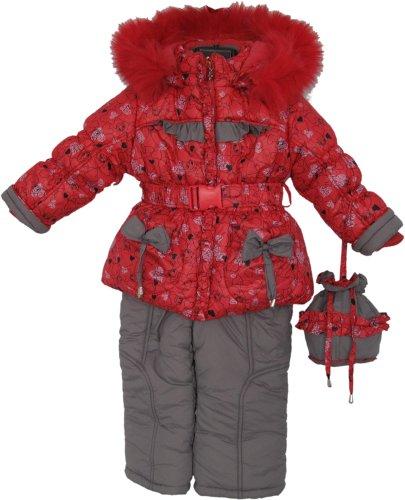 Зимний комплект Кико, куртка и комбинезон: 8 000 тг. - Одежда для девочек в Астане на Slando